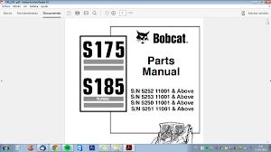 manual de taller y despiece bobcat s175 350 00 en mercado libre