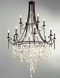 Black Iron Chandeliers Fashion Shop Bar Retro Black Shell Chandelier Laras
