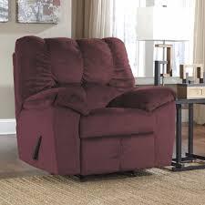 julson burgundy rocker recliner u2013 adams furniture