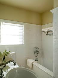 photos hgtv traditional bathroom with white subway tiles idolza