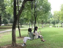 200 80cm portable tree hanging hammock garden swing chair