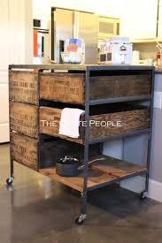Kitchen Islands On Casters Kitchen Island Crate Combo On Casters The Crate People