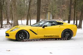 yellow corvette c7 corvette c7 stingray stripes 5 images 2014 chevrolet corvette