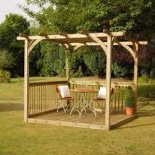 How To Build A Simple Pergola by Pergolas Outdoors Pinterest Jardines Patios Traseros Y Un Día