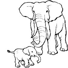 Coloriages Éléphant  Les animaux