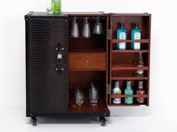 Trunk Bar Cabinet Bar Cabinet With Casters Colonial Trunk By Kare Design