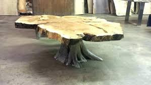 tree stump table base tree stump end table mextextrio com