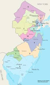 Jersey Shore Map New Jersey U0027s Congressional Districts Wikipedia