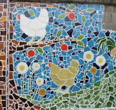 lessons in building a grandisimo mosaic tile mural sandy malamed