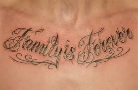 family is forever on chest great ideas and tips