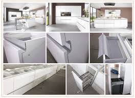 2015 new modern design built in handle style kitchen cabinet view