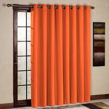 Orange Thermal Curtains Orange Colored Curtains 100 Images Ace Moroccan Style Orange