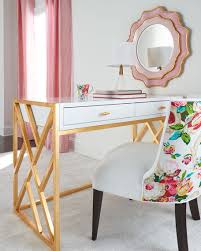 gold and white writing desk nova writing desk writing desk desks and drawers