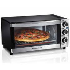 Toaster Oven Reheat Pizza Pizza Ovens Hamiltonbeach Com