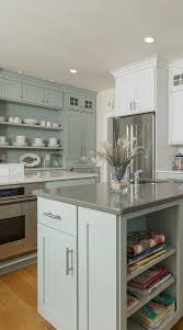 green kitchen cabinets with white island 34 top green kitchen cabinets for kitchen