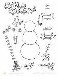 build a snowman build a snowman worksheets and snowman