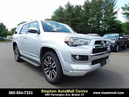 2017 toyota 4runner limited new toyota 4runner in bristol ct inventory photos videos