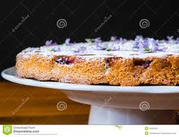 italian rustic cake with grape stock photo image 46395291