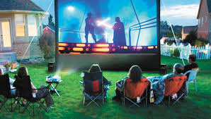 Backyard Theater Ideas A Different Take On Family Movie Night The Andalusia Star News