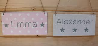 türschilder kinderzimmer türschilder türschild kinderzimmer holz rosa oder grau ein