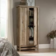 Storage Furniture Amazon Com Sauder Cannery Bridge Storage Cabinet In Lintel Oak
