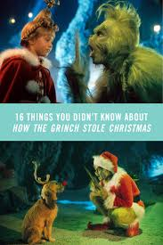 16 things you didn u0027t know about how the grinch stole christmas