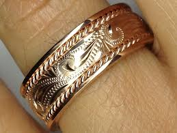 gold wedding bands from mdc diamonds