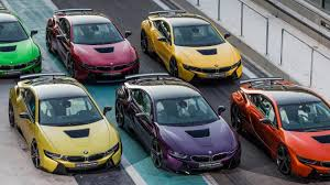 Bmw I8 Orange - bmw abu dhabi motors is offering the i8 in six different custom colors