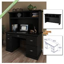 Wood Computer Desk With Hutch by Home Office Computer Desk With Hutch 2301 Ebay Home Office Desk