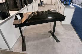 Pc On Desk Or Floor Lian Li Unveils Dk 05 Dual Pc Standing Desk Atomic Cases Pc