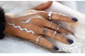 midi ring set brand new bohemian midi ring set vintage steunk anillos ring