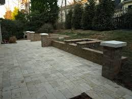 Paver Patios With Fire Pit by Outdoor Stone Firepits Charlotte Nc Masters Stone Group