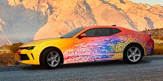 car wrapped in wrapping paper graphics signage graphic solutions 3m us