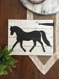 rustic horse decor equestrian wall decor horse decor horse
