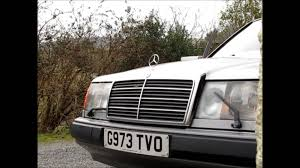 headlamp wipers mercedes benz w124 youtube