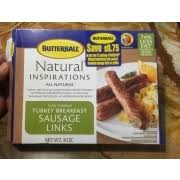 butterball cooked turkey butterball inspirations fully cooked breastfast sausage