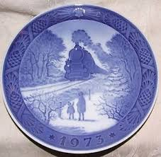 1973 royal copenhagen plate going home for