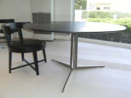 contemporary dining table wooden metal marble fly flexform