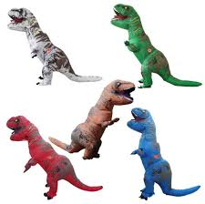 t rex costume oisk dinosaur t rex costume up walking