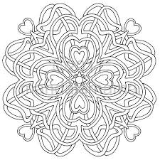 mandala geometrics print color digital mandala