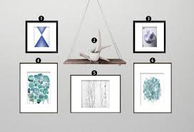How To Design A Gallery Wall by How To Create A Minimalist Gallery Wall U2022 Little Gold Pixel