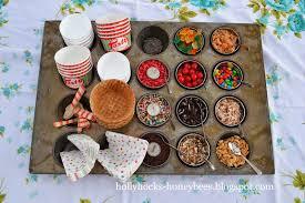sundae bar toppings hollyhocks honeybees ice cream sundae bar chocolate sauce recipe