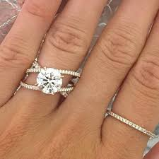 lively wedding band engagement ring trends you ll swoon in 2018 southern living
