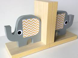 elephant bookends paint elegant elephant bookends to cute