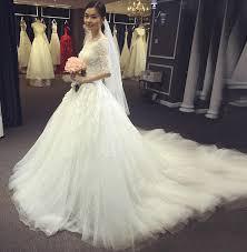 korean wedding dress korean style shoulder wedding gown with yobebee