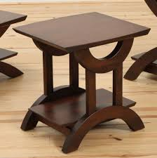 End Table With Shelves by Gateway End Table With Shelf Amish Oak Furniture U0026 Mattress Store