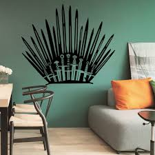 game of thrones decal bathroom toilet sticker gaming home decor