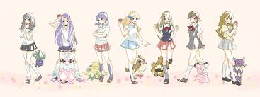 trainer class pokémon zerochan anime image board