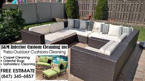 outdoor patio cushions cleaning j u0026m interior custom cleaning inc