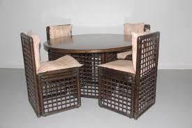 Rattan Dining Room Chairs Rattan Dining Room Set By Tobia U0026 Afra Scarpa For B U0026b Italia